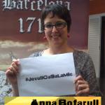 La directora de Barcelona 1714 , ens fa suport
